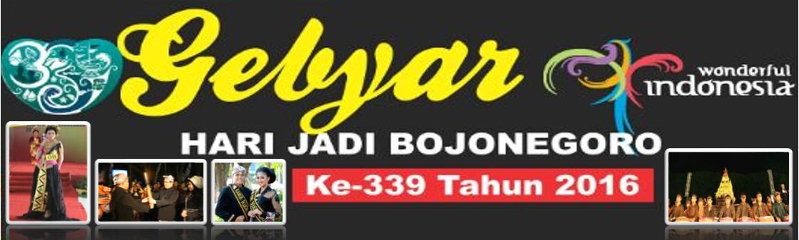 Gebyar Hari Jadi Bojonegoro (HJB) 339 Tahun 2016<BR>Semangat OGP wujudkan Masyarakat Jonegoro Sehat, Cerdas, Produktif dan Bahagia